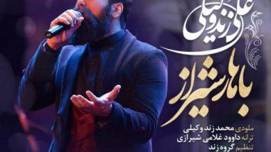 تصویر دانلود آهنگ باهار شیراز علی زند وکیلی